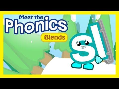 Meet The Phonics Blends - Sl