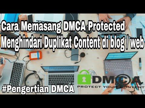 Cara Mendaftar DMCA Protected Di Blogger