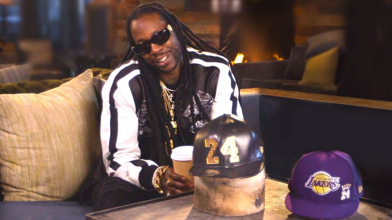 2 Chainz Wears a $38K Kobe Bryant Hat