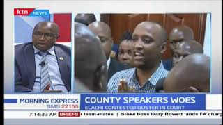 Political point: Several county speakers under siege