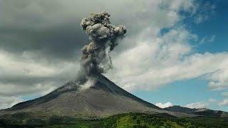 Извержение вулкана Баурдарбунга в Исландии 29.08.2014