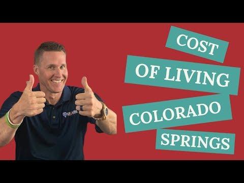 Cost Of Living In Colorado Springs