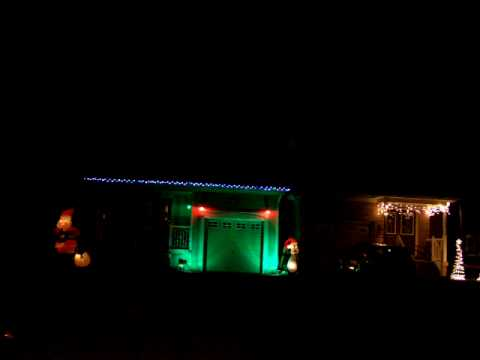 The Lowes Christmas Lights - YouTube