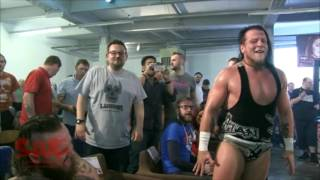 full free match sami callihan v tommy end for aaw title