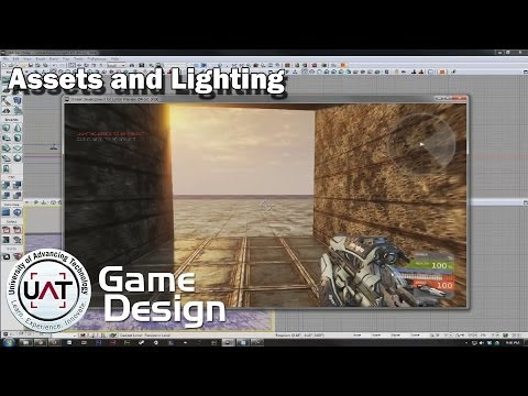 Assets and Lighting in UDK