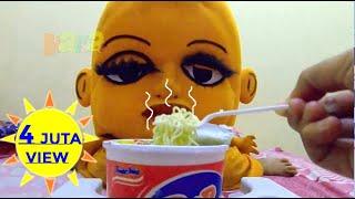 Badut Mampang 🤡 Makan Pop mie 🍜 badut Lucu Suka Makan Mie