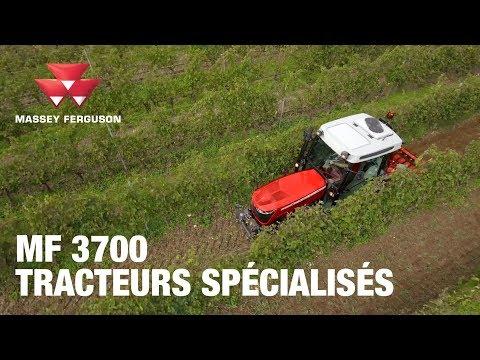 La série MF 3700, une nouvelle génération de tracteurs vignerons, spécialisés et fruitiers