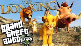 THE NEW LION KING MOD w/ SCAR (GTA 5 PC Mods Gameplay)