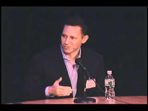 Panel with Peter Thiel, Aubrey de Grey, Eliezer Yudkowsky