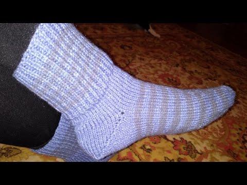Виды вязания спицами носков
