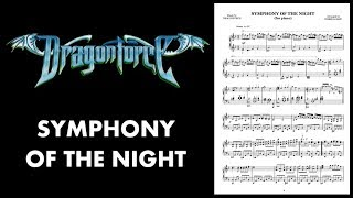 DragonForce - Symphony of the Night - Piano cover