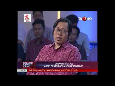 INDONESIA BUSINESS FORUM TV ONE Ekonomi Digital