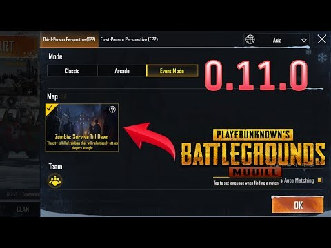 Pubg 0.11.0 Beta Version Zombie Mode is Out | Download Link Available
