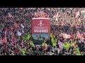 Aberdeen parade League Cup Trophy through city
