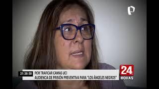 """Audiencia de prisión preventiva de """"Los Ángeles Negros"""" por tráfico de camas UCI"""