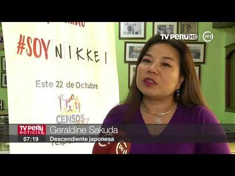 Soy Nikkei: Piden a descendientes de japoneses identificarse en cédula censal