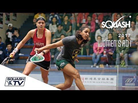 Squash: Hong Kong Open 2017 - Women's Rd 1 Roundup [Pt.2]