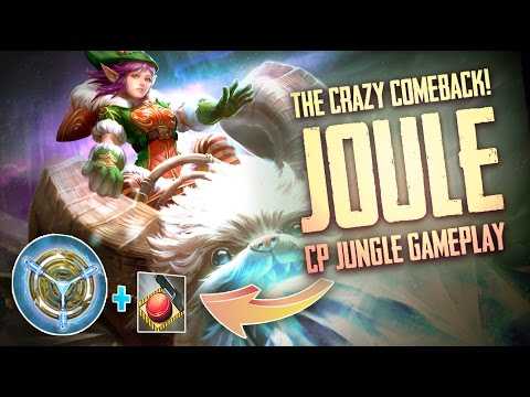 Vainglory Gameplay - Episode 267: CRAZY COMEBACK!! Joule |CP| Jungle Gameplay [Update 2.0]