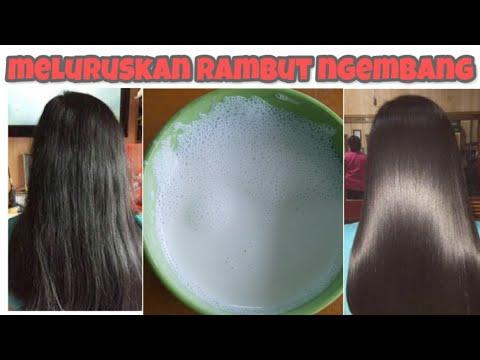 cara meluruskan rambut dan mengatasi rambut rusak