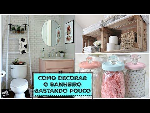 COMO DECORAR O BANHEIRO GASTANDO POUCO - IDEIAS DO PINTEREST | Organize sem Frescuras!