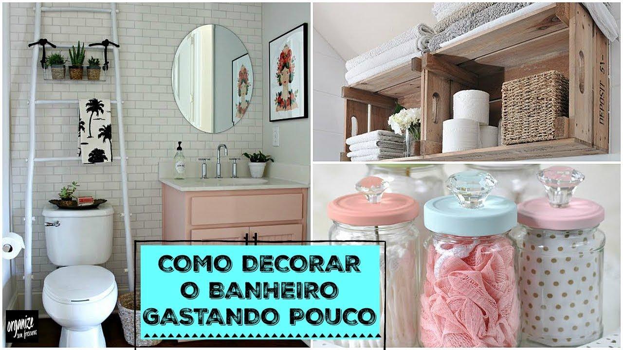 Como decorar o banheiro gastando pouco ideias do pinterest organize sem frescuras youtube - Adsl para casa barato ...