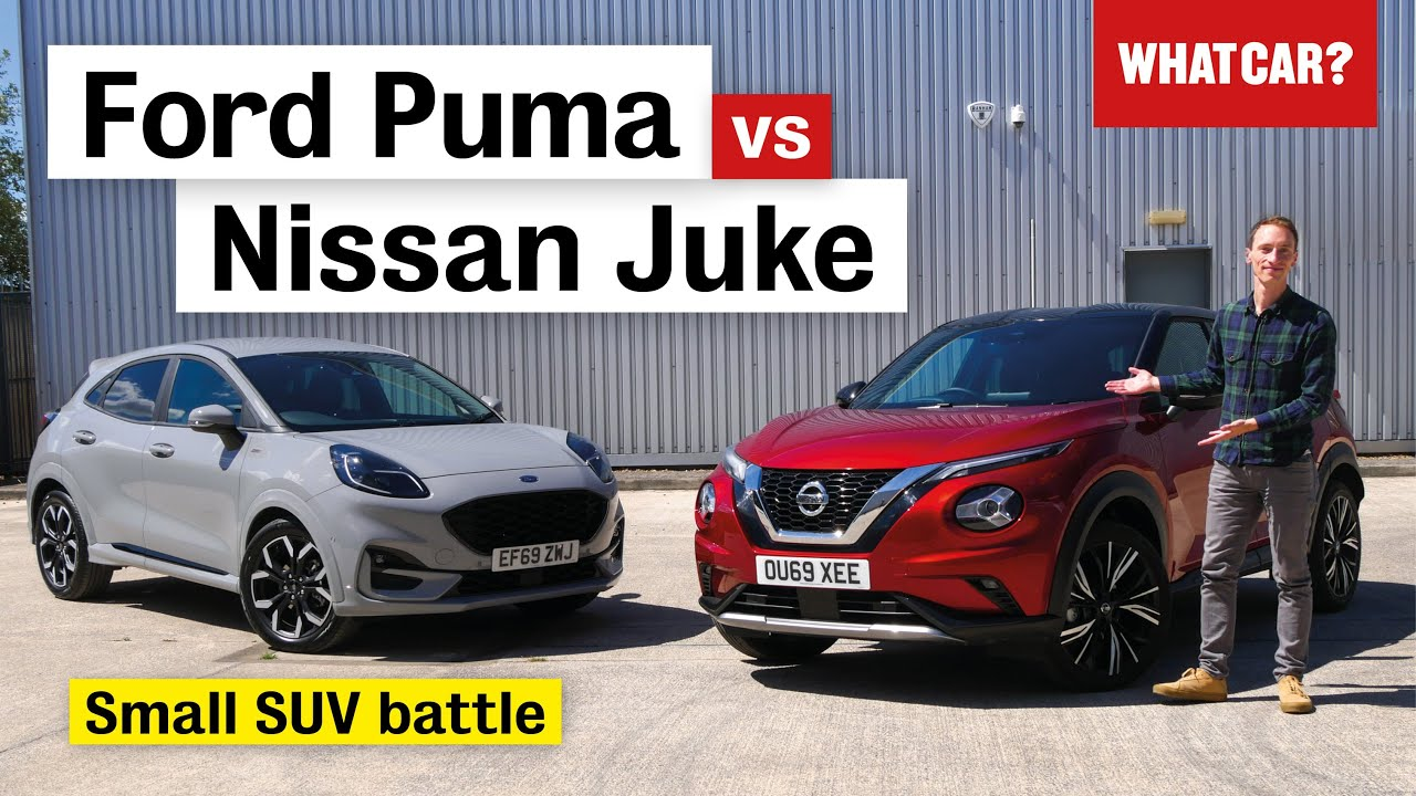 2020 Ford Puma vs Nissan Juke review – what's the best small SUV?   What Car?