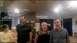 "360 Video: The Viral LeBaron Family Sings ""Love at Home"""