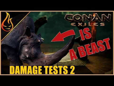 Pet Damage Values Part 2 Conan Exiles 2018 Pet Update Tips