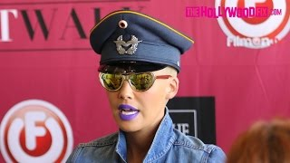Amber Rose Speaks On Kim Kardashian Sex Tape At Slut Walk Press Conference 10.2.15