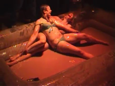Mud wrestling at The White Swan Malton 2007