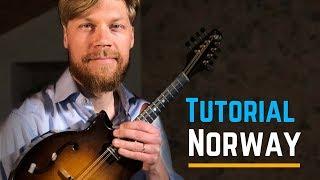 Mandolin Lesson - Norwegian Folk Music - Traditional Rheinländer after Ånon Egeland