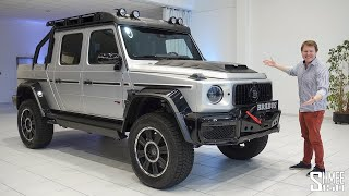 The Brabus G63 Adventure XLP is the ULTIMATE G WAGON!