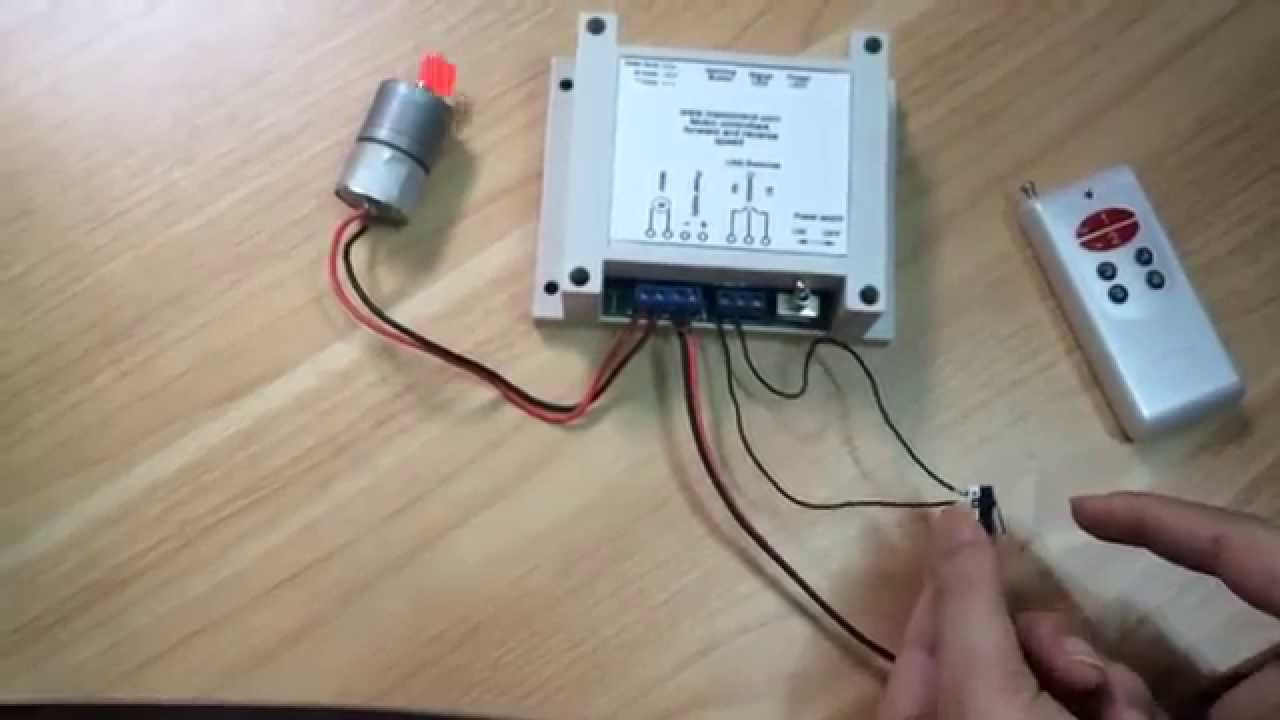 12v 24v Trolling Motor Wiring Diagram Rf Wireless Remote Control Switch One Motor Forward And