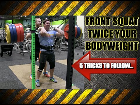 How To: Crush A New Front Squat Max