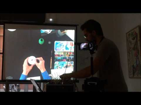 Improvisation on streaming Bcn-Ny of Carlo Mezzino & Miguel Pang