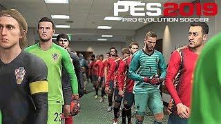 PES 2019    UEFA Nations League 2018/19   España vs Croacia   Gameplay PS4