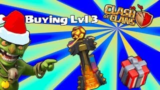 Clash of clans - Buying Lvl 3 inferno Tower ( eye of Mordor )