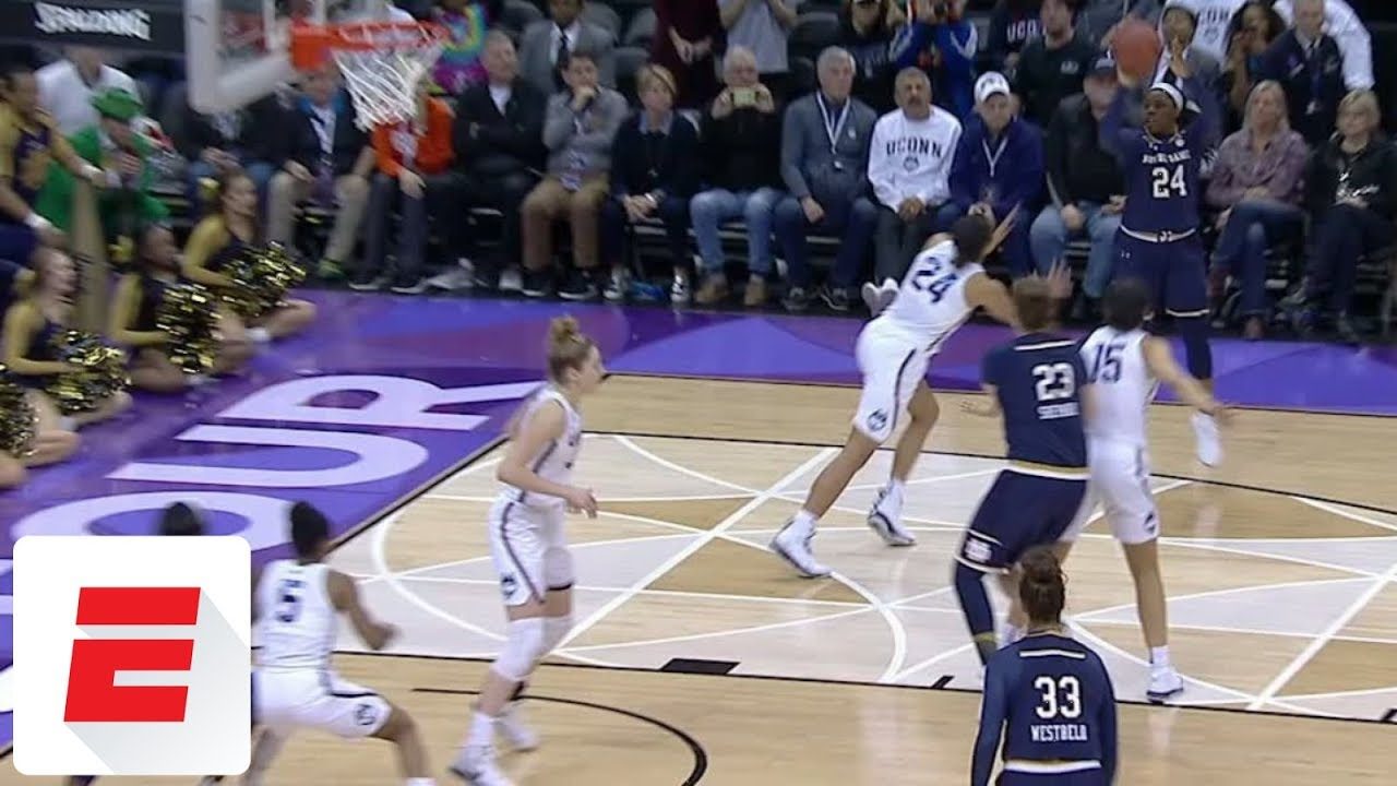 Women's basketball: Notre Dame beats UConn in overtime to reach final