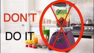 10 Reasons NOT To Buy a Blendtec Blender!