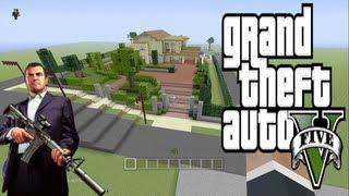 GTA V Michael De Santa House On MINECRAFT Xbox 360