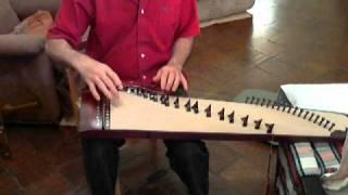 Vietnamese  Dan Tranh  Beginner Practice  1