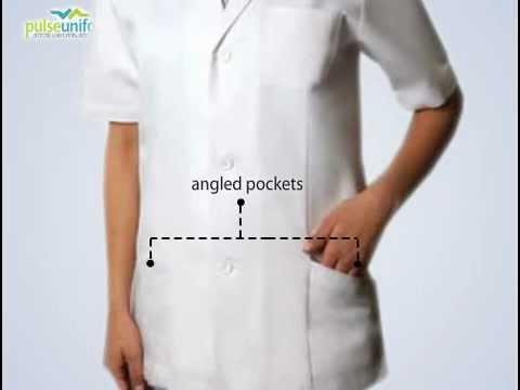 Short Sleeve Adar Lab Coat - 30 Inch Consultation Coat 809T