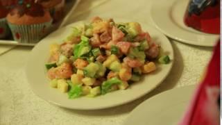 салат в кафе Киш Миш