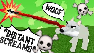I HIRED A FAN to be my GUARD DOG! Roblox Admin Command Trolling