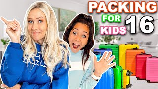 PACKiNG for 16 KiDS! | *What NOT to do!!*