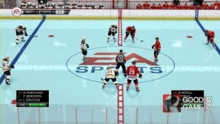 NHL 94 Anniversary Mode Gameplay in NHL 14 [HD]