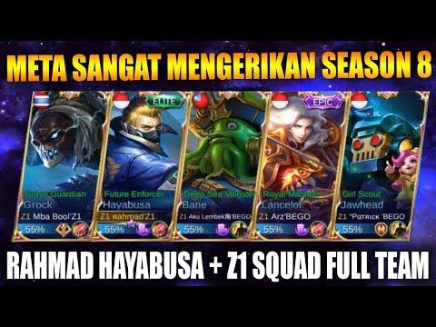 META GG SEASON 8 BANE GROCK JAWHEAD + HAYABUSA RAHMAD - Mobile Legend Bang Bang