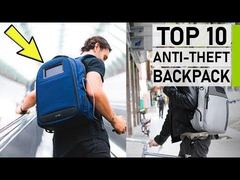Top 10 Best Anti-Theft Smart Backpacks in 2020