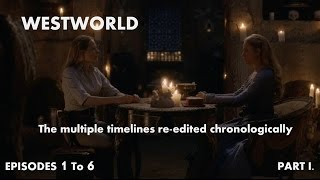 WestWorld - Multiple timelines re-edited chronologically - Part I. [TONS OF SPOILERS]