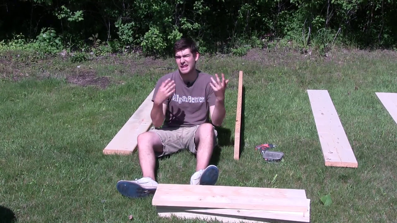 How To Build Raised Beds For Cheap Hd Version Youtube